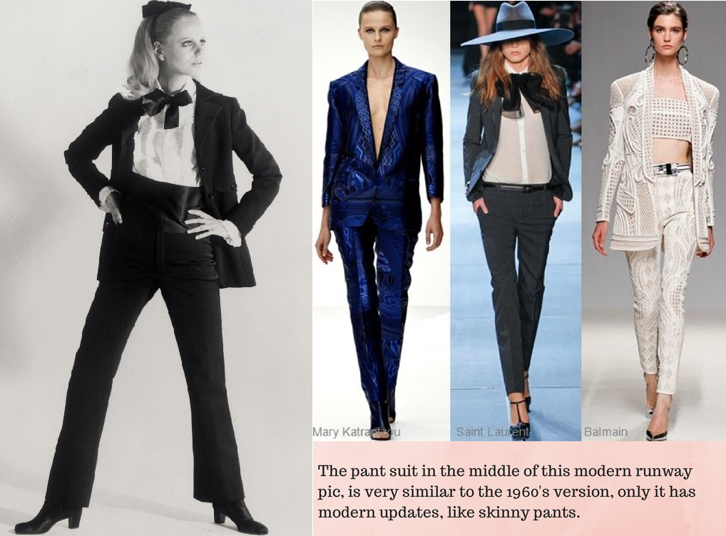 60s fashion trends then and now