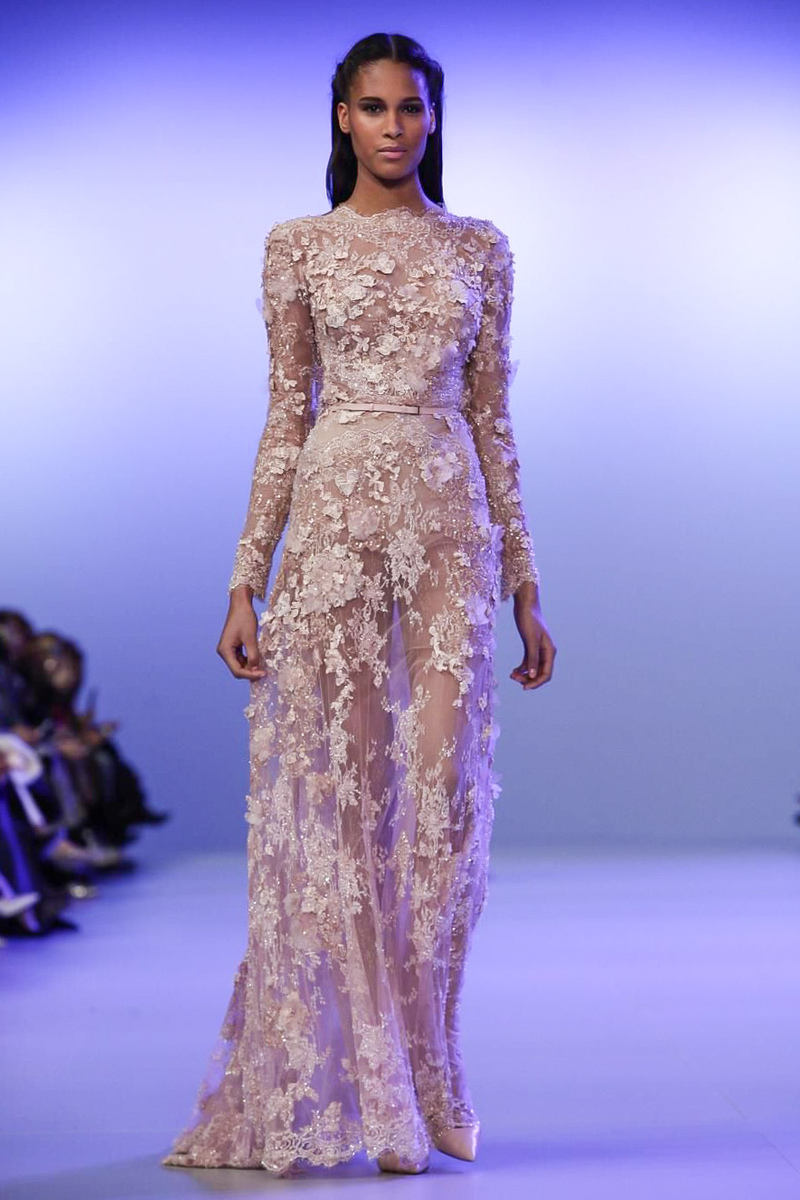Trend report best evening wear looks from couture 2014 for Couture clothing